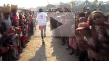 Marathon de Tana 2012 : ambiance dans les quartiers populaires